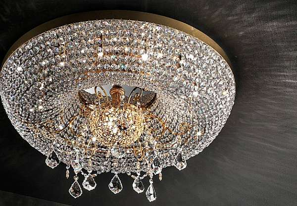 Chandelier MASIERO (EMME PI LIGHT) LUXURY Gold Imperial / pL12+3